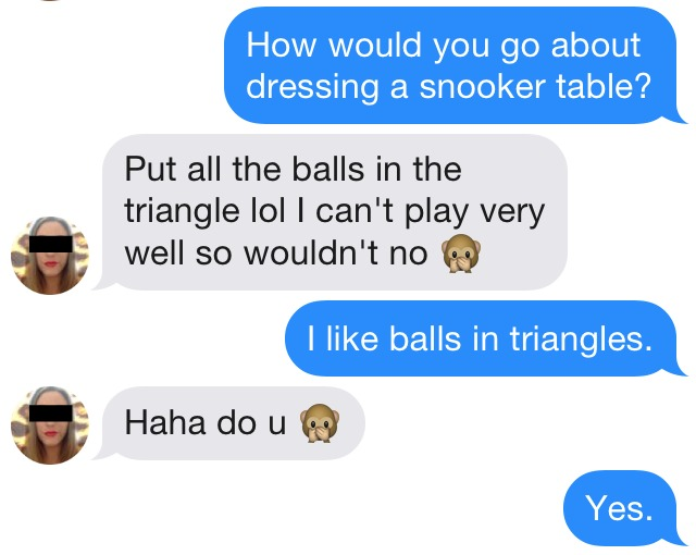 Tinder Opening Lines